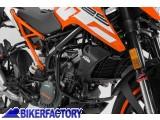BikerFactory Protezione motore paracilindri tubolare SW Motech nero x KTM 125 200 Duke %28%2711 in poi%29. SBL.04.214.10000 B 1024139