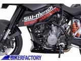 BikerFactory Protezione motore paracilindri tubolare SW Motech nero x KTM Supermoto SBL.04.650.10000 B 1000716