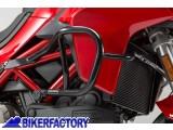 BikerFactory Protezione motore paracilindri tubolare SW Motech x DUCATI Multistrada 1200 S SBL.22.584.10000 B 1033218