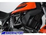 BikerFactory Protezione motore paracilindri tubolare SW Motech x DUCATI Scrambler 400 Sixty2 SBL.22.577.10001 B 1034740