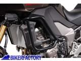 BikerFactory Protezione motore paracilindri tubolare SW Motech x Kawasaki Versys 1000 SBL.08.370.10000 B 1020300