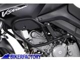 BikerFactory Protezione motore paracilindri tubolare SW Motech x SUZUKI DL650 V Strom %28%2704 %2710%29 SBL.05.674.10000 B 1000840