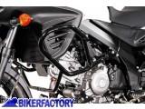 BikerFactory Protezione motore paracilindri tubolare SW Motech x SUZUKI DL650 V Strom mod. 2012 %28%2711 in poi%29 SBL.05.757.10000 B 1016972