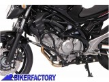 BikerFactory Protezione motore paracilindri tubolare SW Motech x SUZUKI SFV 650 Gladius %28%2709 %2710%29 SBL.05.632.10000 B 1000860