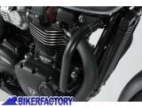 BikerFactory Protezione motore paracilindri tubolare SW Motech x TRIUMPH Bonneville T120%2C Street Twin e Thruxton 1200 R SBL.11.667.10000 B 1034333