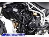 BikerFactory Protezione motore paracilindri tubolare SW Motech x TRIUMPH TIGER 800 TIGER 800 XC SBL.11.749.10000 B 1012066