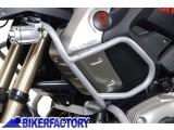 BikerFactory Protezione serbatoio tubolare SW Motech colore ARGENTO x BMW R 1200 GS %28%2704 %2707%29 SBL.07.552.100 1024183