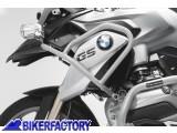 BikerFactory Protezione serbatoio tubolare SW Motech colore ARGENTO x BMW R 1200 GS LC %28%2713 in poi%29 SBL.07.788.10001 S 1027931