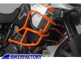 BikerFactory Protezione tubolare SW Motech per serbatoio carena COLORE ARANCIO x KTM Adventure 1050 1190 SBL.04.338.10100 O 1032023