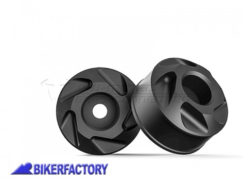 BikerFactory Tamponi paracolpi forcella anteriore SW Motech per BMW F 800 GT %28%2712 in poi%29 STP.07.176.10700 B 1024486