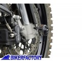 BikerFactory Tamponi paracolpi forcella anteriore SW Motech per BMW F800GS STP.07.176.10400 B 1024120