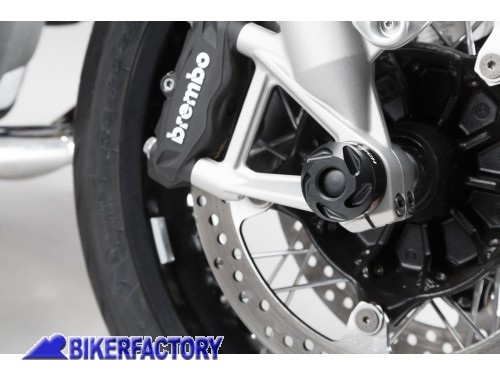 BikerFactory Tamponi paracolpi forcella anteriore SW Motech per BMW R nineT STP.07.176.10800 B 1036733