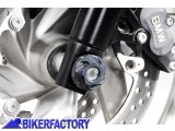 BikerFactory Tamponi paracolpi forcella anteriore SW Motech per BMW STP.07.176.10100 B 1019211