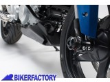 BikerFactory Tamponi paracolpi forcella anteriore SW Motech x BMW G 310 GS R STP.07.176.11300 B 1037045
