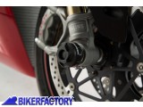 BikerFactory Tamponi paracolpi forcella anteriore SW Motech x DUCATI 899 959 1299 Panigale e XDiavel S STP.22.176.10200 B 1028493