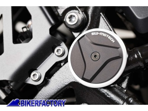 BikerFactory Tappi SW Motech per telaio BMW R 1200 GS LC Adventure R 1200 RT R 1250 RT GS Adventure RAD.07.737.10100 B 1024338