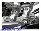 BikerFactory Prolunghe manubrio 20 mm SW Motech specifiche per Triumph Tiger 800 800XC XCa XCx e Tiger Explorer. LEH.11.039.10000 S 1011122