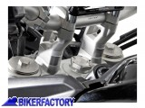 BikerFactory Prolunghe manubrio 20 mm specifiche per Triumph Tiger 800 800XC e Tiger Explorer. LEH.11.039.10000 S 1011122