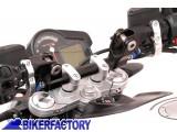 BikerFactory Riser Conversioni manubrio SW Motech da %C3%98 22 mm %C3%98 28 mm 1002641