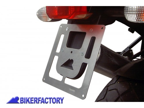 BikerFactory Portatarga in acciaio inox per BMW R 850 1100 1150 GS e Adventure 2936 1001596