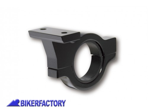 BikerFactory Supporto con morsetto da manubrio per unit%C3%A0 di controllo digitale HIGHSIDER 22 mm %287 8 inch%29 e 25%2C4 mm %281 inch%29 1030952
